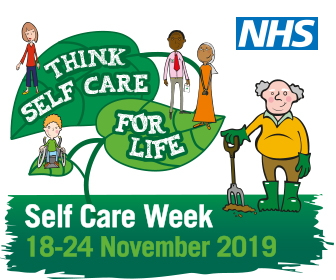 Self Care Week 2019 (18 – 24 November).  Think self care for life